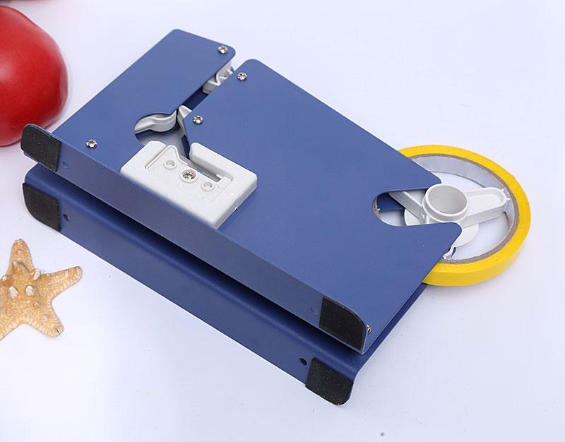 dispensador de metal de cinta adhesiva para sellado de bolsas sellador