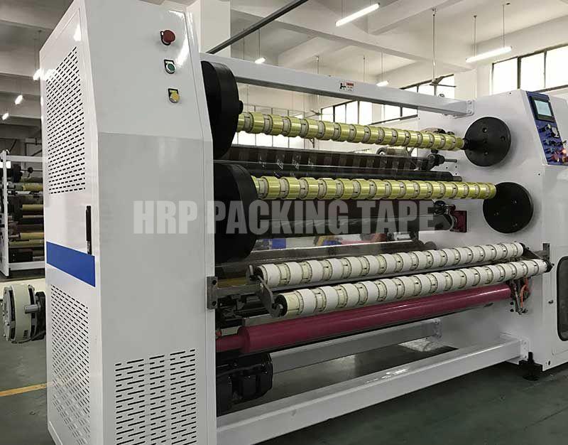 Maquina 1600 Cortadora rebobinadora de cinta de embalaje